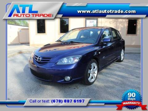 2005 Mazda MAZDA3 for sale at ATL Auto Trade, Inc. in Stone Mountain GA