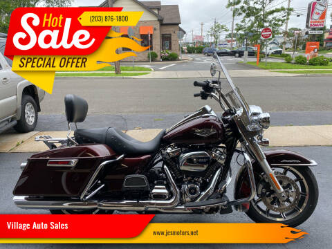 2018 Harley Davidson Road King for sale at Village Auto Sales in Milford CT