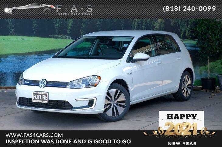 2016 Volkswagen e-Golf for sale at Best Car Buy in Glendale CA