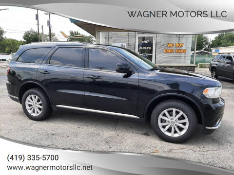 2015 Dodge Durango for sale at Wagner Motors LLC in Wauseon OH
