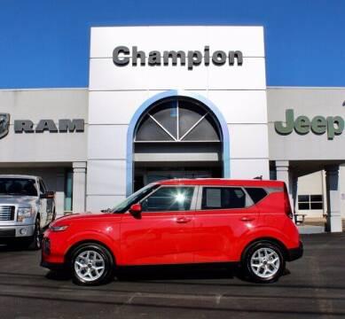2020 Kia Soul for sale at Champion Chevrolet in Athens AL