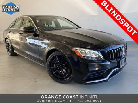 2019 Mercedes-Benz C-Class for sale at ORANGE COAST CARS in Westminster CA