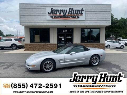 1998 Chevrolet Corvette for sale at Jerry Hunt Supercenter in Lexington NC