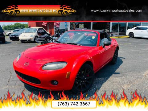 2006 Mazda MX-5 Miata for sale at LUXURY IMPORTS AUTO SALES INC in North Branch MN