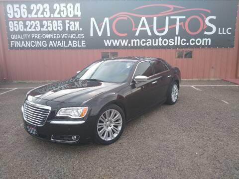 2012 Chrysler 300 for sale at MC Autos LLC in Pharr TX