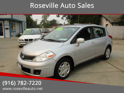 2010 Nissan Versa for sale at Roseville Auto Sales in Roseville CA