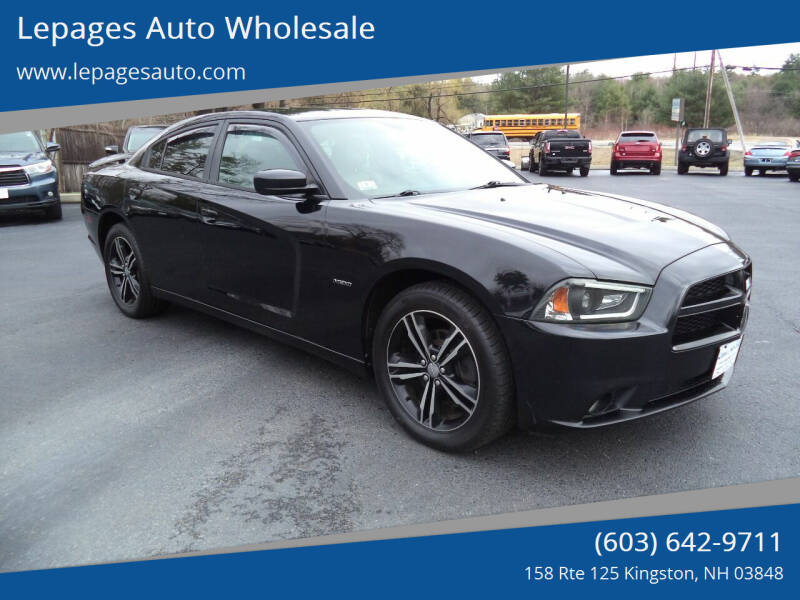 2014 Dodge Charger for sale at Lepages Auto Wholesale in Kingston NH