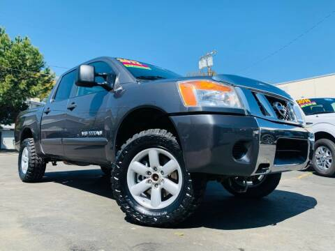 2012 Nissan Titan for sale at Alpha AutoSports in Roseville CA