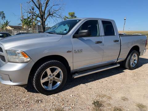2013 RAM Ram Pickup 1500 for sale at FAIR DEAL AUTO SALES INC in Houston TX