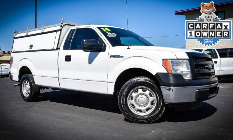 2014 Ford F-150 for sale at Rahimi Automotive Group in Yuma AZ