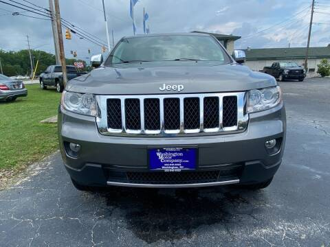 2013 Jeep Grand Cherokee for sale at Greenville Motor Company in Greenville NC