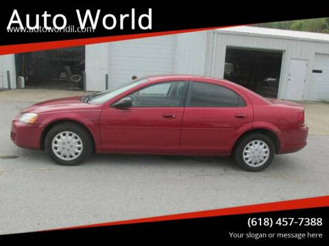 2006 Dodge Stratus for sale at Auto World in Carbondale IL