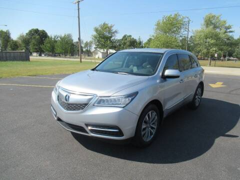 2014 Acura MDX for sale at Just Drive Auto in Springdale AR