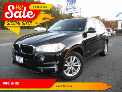 2015 BMW X5 for sale at AUTOTYM INC in Fredericksburg VA