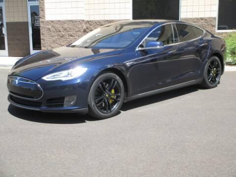 2014 Tesla Model S for sale at COPPER STATE MOTORSPORTS in Phoenix AZ