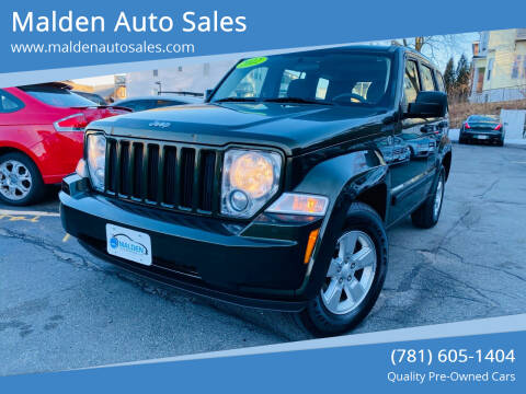 2012 Jeep Liberty for sale at Malden Auto Sales in Malden MA