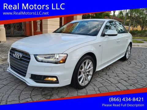 2015 Audi A4 for sale at Real Motors LLC in Clearwater FL