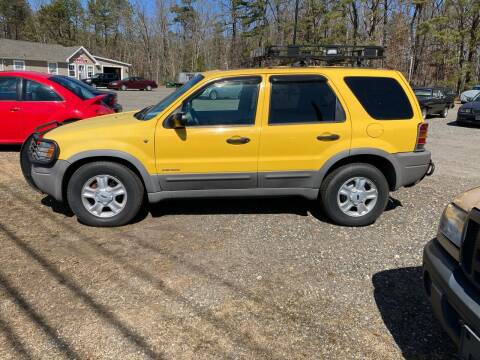 2001 Ford Escape for sale at MIKE B CARS LTD in Hammonton NJ