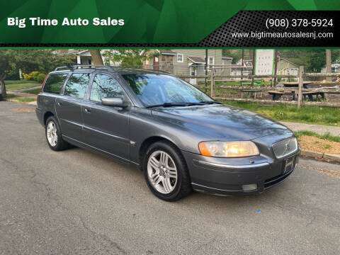 2006 Volvo V70 for sale at Big Time Auto Sales in Vauxhall NJ