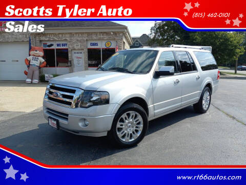 2012 Ford Expedition EL for sale at Scotts Tyler Auto Sales in Wilmington IL