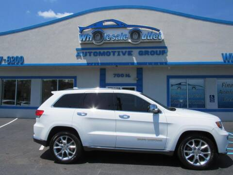 2014 Jeep Grand Cherokee for sale at The Wholesale Outlet in Blackwood NJ