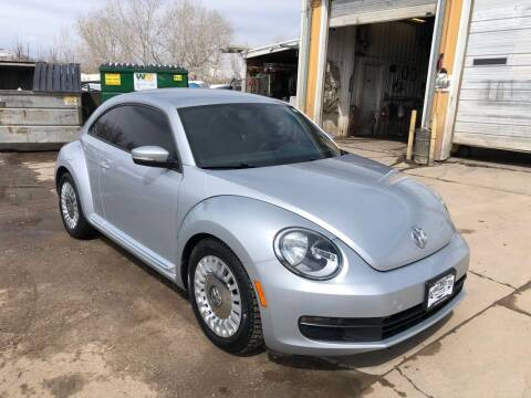 2015 Volkswagen Beetle for sale at BERKENKOTTER MOTORS in Brighton CO
