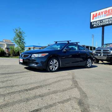 2010 Honda Accord for sale at Hayden Cars in Coeur D Alene ID