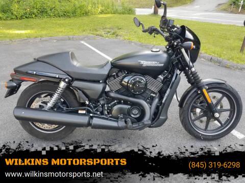 2017 Harley-Davidson XG 750 Street for sale at WILKINS MOTORSPORTS in Brewster NY