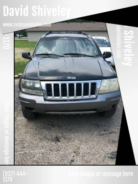 2004 Jeep Grand Cherokee for sale at David Shiveley in Mount Orab OH