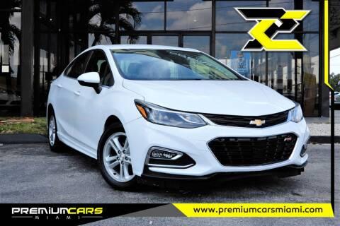2016 Chevrolet Cruze for sale at Premium Cars of Miami in Miami FL