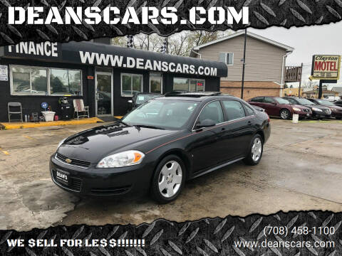 2008 Chevrolet Impala for sale at DEANSCARS.COM in Bridgeview IL