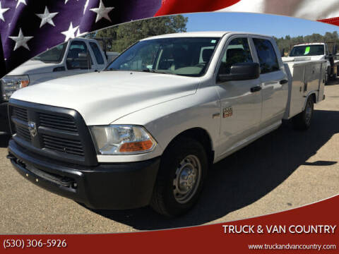 2012 RAM Ram Chassis 2500 for sale at Truck & Van Country in Shingle Springs CA
