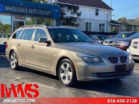 2008 BMW 5 Series for sale at MWS Wholesale  Auto Outlet in Grand Rapids MI
