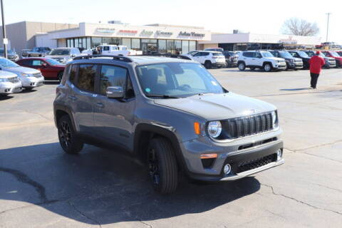 2020 Jeep Renegade for sale at Vance Fleet Services in Guthrie OK