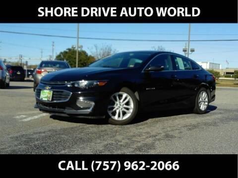 2018 Chevrolet Malibu for sale at Shore Drive Auto World in Virginia Beach VA