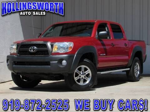 2011 Toyota Tacoma for sale at Hollingsworth Auto Sales in Raleigh NC