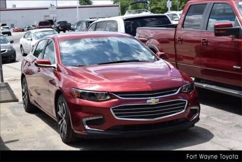 2017 Chevrolet Malibu for sale at BOB ROHRMAN FORT WAYNE TOYOTA in Fort Wayne IN