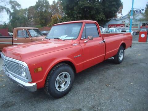 1971 Chevrolet C/K 10 Series for sale at Marshall Motors Classics in Jackson Michigan MI
