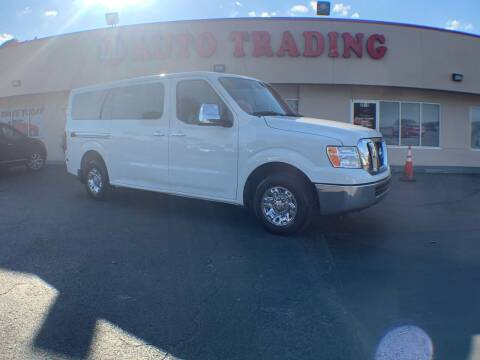 2016 Nissan NV Passenger for sale at LB Auto Trading in Orlando FL