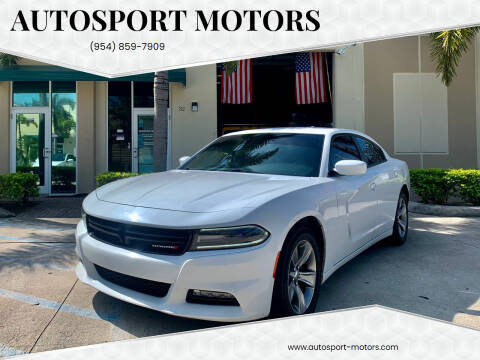 2016 Dodge Charger for sale at AUTOSPORT MOTORS in Lake Park FL