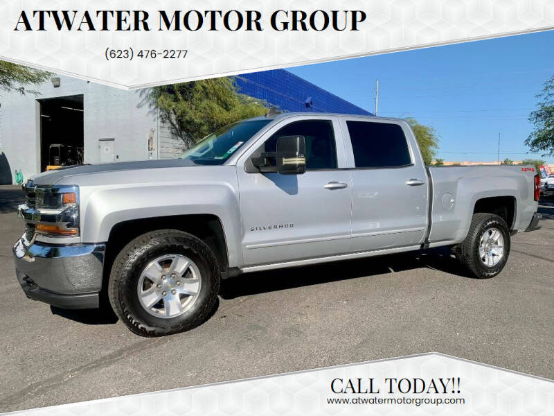 2018 Chevrolet Silverado 1500 for sale at Atwater Motor Group in Phoenix AZ