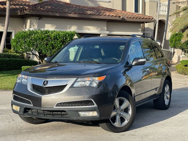 2010 Acura MDX for sale at Citywide Auto Group LLC in Pompano Beach FL