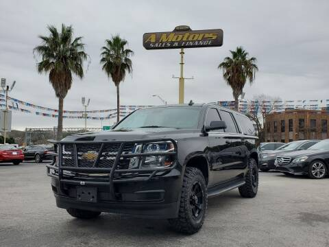 2015 Chevrolet Suburban for sale at A MOTORS SALES AND FINANCE - 10110 West Loop 1604 N in San Antonio TX