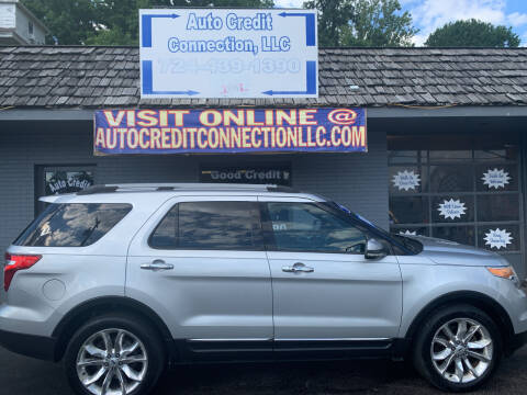 2012 Ford Explorer for sale at Auto Credit Connection LLC in Uniontown PA
