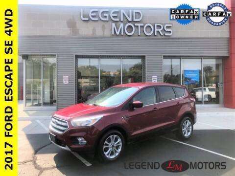 2017 Ford Escape for sale at Legend Motors of Waterford - Legend Motors of Detroit in Detroit MI