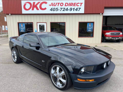 2008 Ford Mustang for sale at OKC Auto Direct in Oklahoma City OK