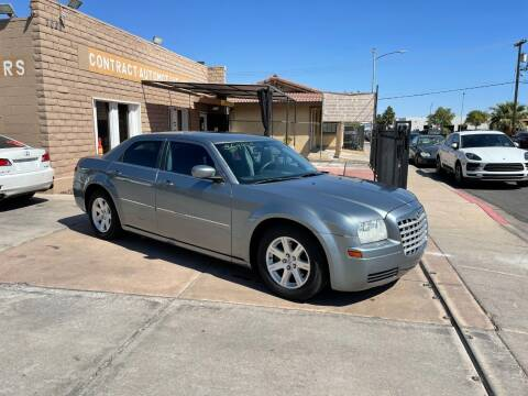 2007 Chrysler 300 for sale at CONTRACT AUTOMOTIVE in Las Vegas NV
