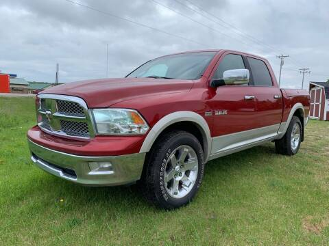 2009 Dodge Ram Pickup 1500 for sale at Overvold Motors in Detriot Lakes MN