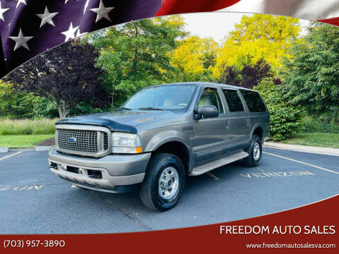 2004 Ford Excursion for sale at Freedom Auto Sales in Chantilly VA