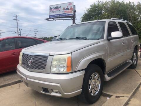 2004 Cadillac Escalade for sale at Wolff Auto Sales in Clarksville TN